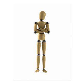 The Mannequin Man Postcard