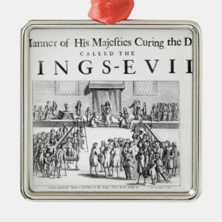 The Manner of his Majesty Curing the Disease Metal Ornament