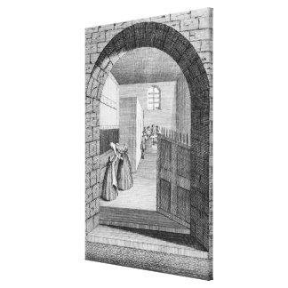 The Manner of John Shepherd's escape Canvas Print