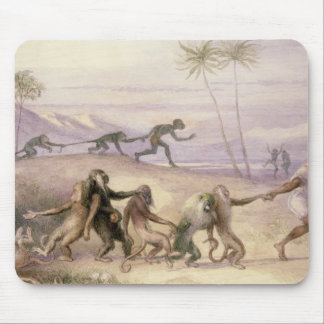 The Manners and Customs of Monkeys Mouse Pad