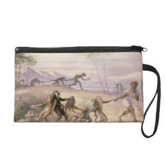 The Manners and Customs of Monkeys Wristlet