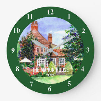 The Manor House, Heslington, York Large Clock