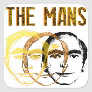 "The Mans ""This Mans"" Sticker"
