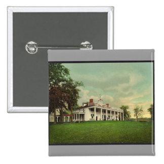 The Mansion, Mount Vernon rare Photochrom Pin