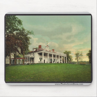 The Mansion, Mount Vernon rare Photochrom Mouse Pad