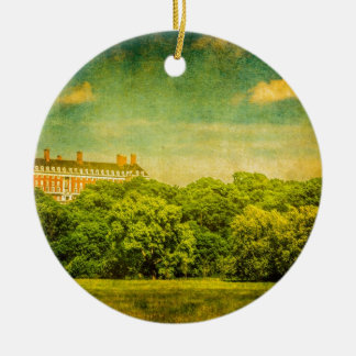 The Mansion on the Hill Ceramic Ornament