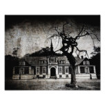 The mansion - print