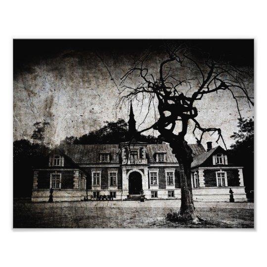 The mansion - print