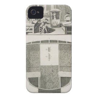 The manufacture of a sedan chair in a coachbuilder iPhone 4 covers