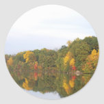 The Many Colors Of Fall Reflected Sticker