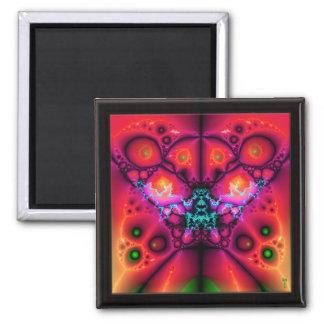 The Many Eyes of Izzaac V 4  Square Magnet