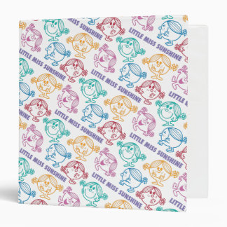 The Many Faces Of Little Miss Sunshine 3 Ring Binder