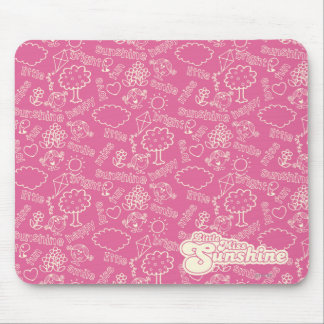 The Many Faces Of Little Miss Sunshine Mouse Pad
