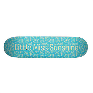 The Many Faces Of Little Miss Sunshine Skateboard