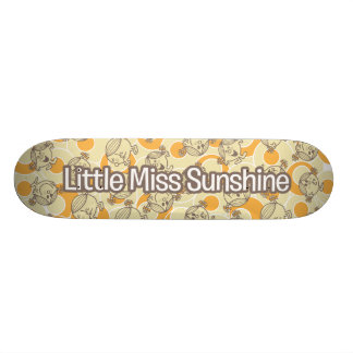 The Many Faces Of Little Miss Sunshine Skateboard Deck