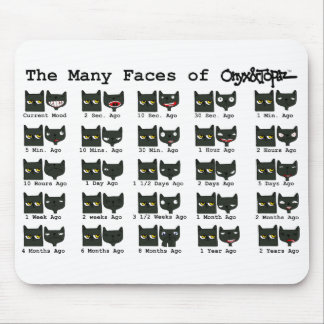 The Many Faces of O&T MOUSE PAD