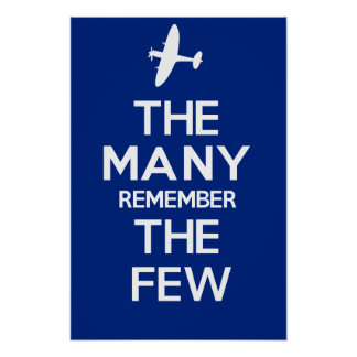 THE MANY REMEMBER THE FEW POSTER