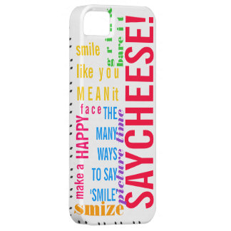 "The Many Ways to Say ""Smile!"" iPhone SE/5/5s Case"