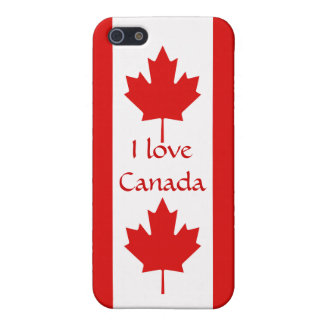 The Maple Leaf flag of Canada iPhone SE/5/5s Case