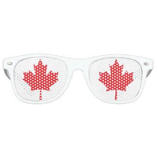 The Maple Leaf, National Symbol of Canada Retro Sunglasses