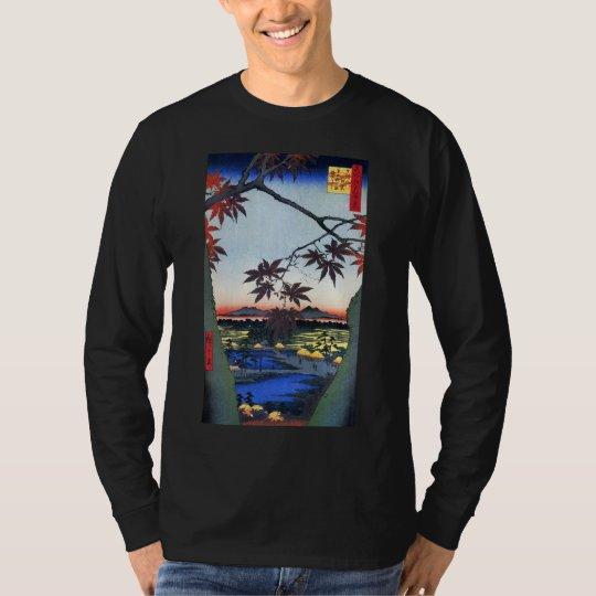 The Maple Trees – Ando Hiroshige T-Shirt