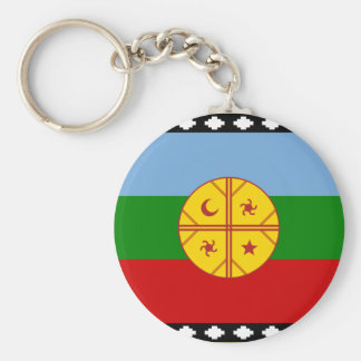 the Mapuches, Chile Keychain