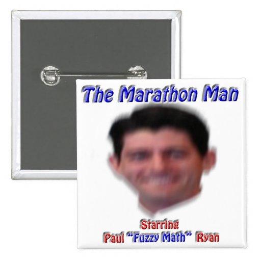 The Marathon Man Buttons