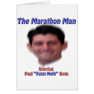 The Marathon Man Card