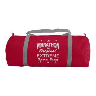 The MARATHON, the original extreme sports event Gym Bag