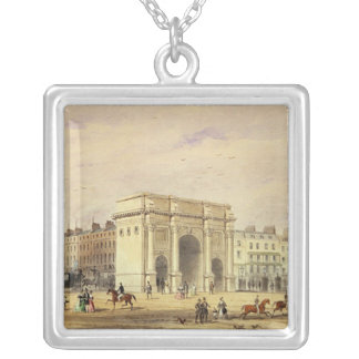 The Marble Arch Silver Plated Necklace