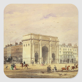 The Marble Arch Square Sticker