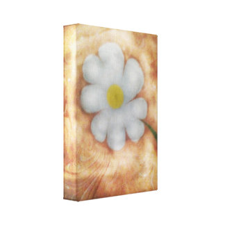The marbling of art daisy Canvas Canvas Prints