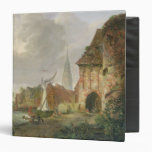 The March Gate in Buxtehude, 1830 3 Ring Binder