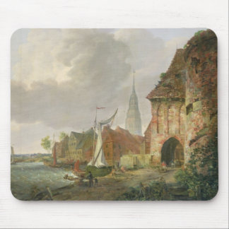 The March Gate in Buxtehude, 1830 Mouse Pad