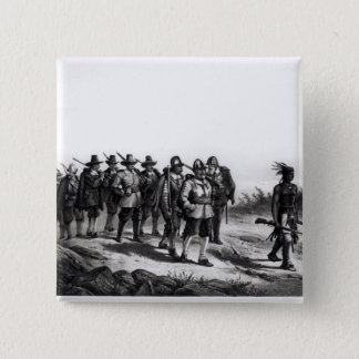 The March of Miles Standish Pinback Button