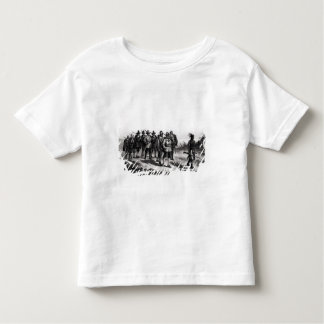 The March of Miles Standish Toddler T-shirt