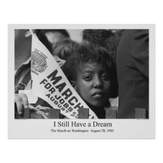 The March on Washington 1963 Poster