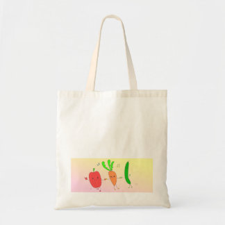 The march ♪ ru of the vegetable it is the ♪ which  tote bag