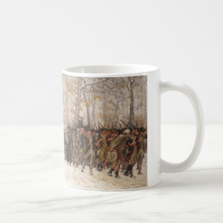 The March to Valley Forge Classic White Coffee Mug