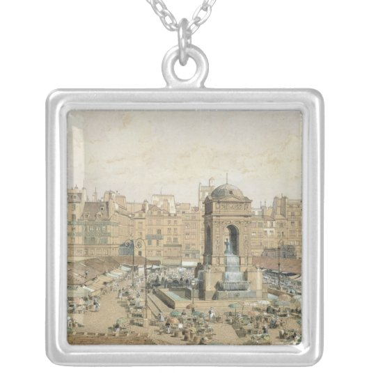 The Marche aux Innocents Silver Plated Necklace