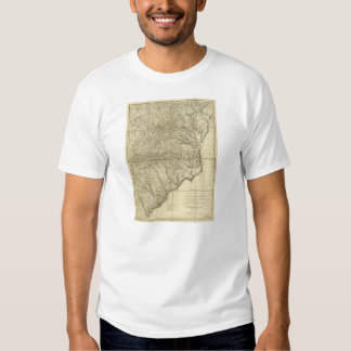 The Marches of Lord Cornwallis Map (1787) Tee Shirt