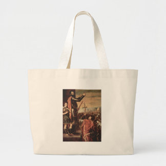 The Marchese del Vasto Addressing his Troops Jumbo Tote Bag