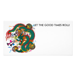 The-Mardi Gras Dragon V-2 Card