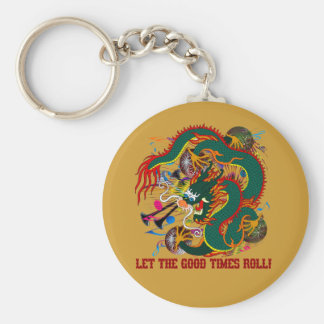 The-Mardi Gras Dragon V-2-T Keychain