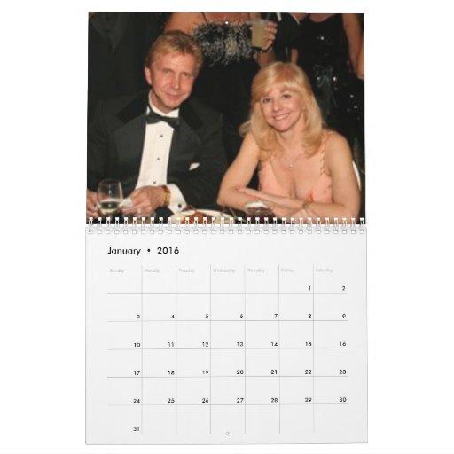 The Margarita Ball Calendar