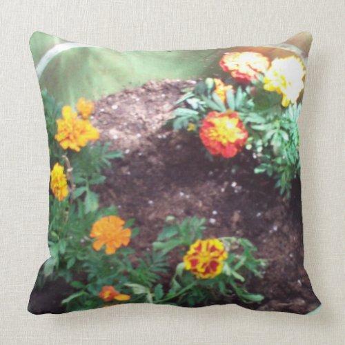 The Marigold Pillow by Julia Hanna mojo_throwpillow