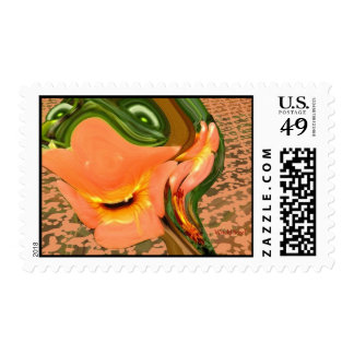 The Marigold Witch! Stamp