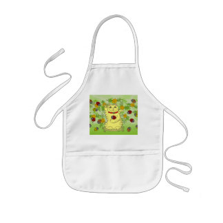 The Marigolds Are Lucky Today! Kids' Apron