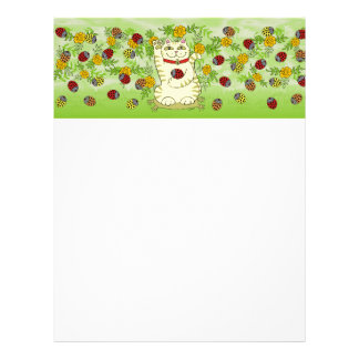 The Marigolds Are Lucky Today! Personalized Letterhead