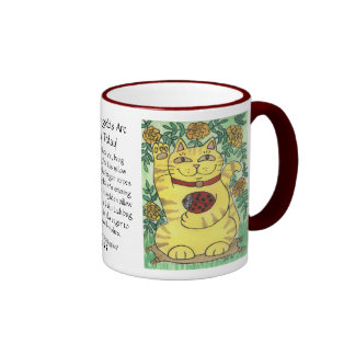 The Marigolds Are Lucky Today! Ringer Coffee Mug